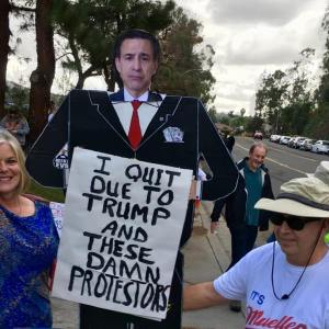 Issa Goes, Opposition Grows: Indivisible Ups the Ante in 49th and 50th Congressional Districts