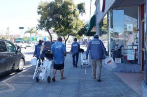 Pacific Beach Street Guardians Provide Jobs for the Homeless