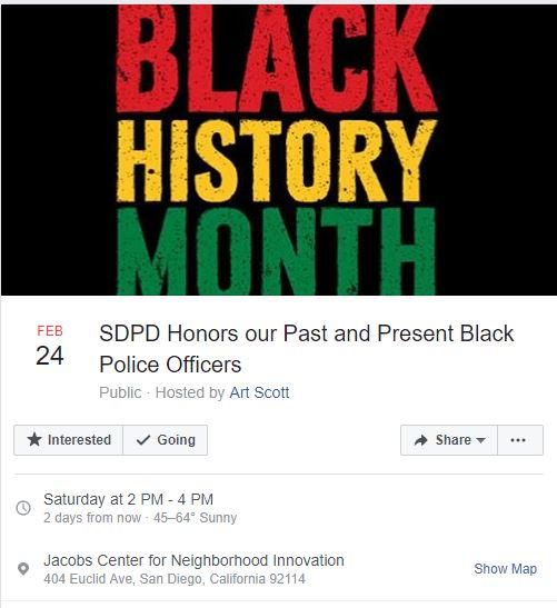 Black History Month Event Honoring African American Law