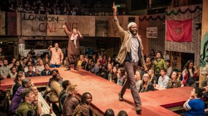 Refugees Cast in 'The Jungle', an Earnest Play about Migrant Camp Life in Calais