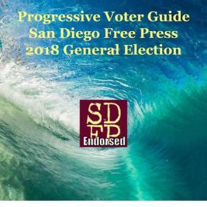 San Diego Progressive Voter Guide, November 2018