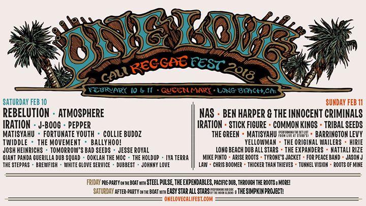 One Love Cali Reggae Fest 2018 San Diego Live Soul