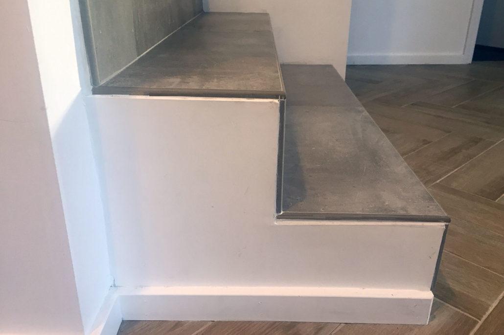 tiling stairs building bridges