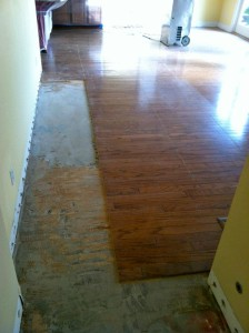 water damage in San Diego