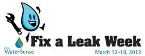 March 12-18 Fix A Leak Week
