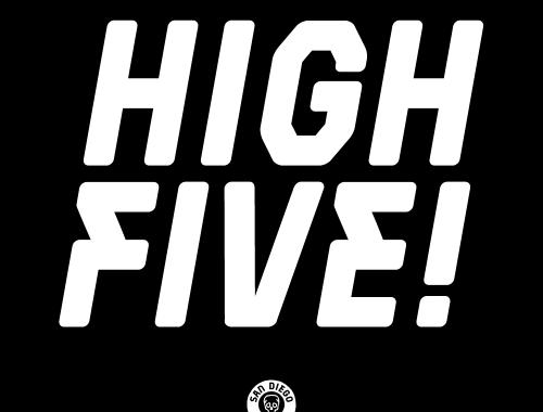 High Five San Diego Punk