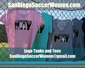 Order San Diego Soccer Women PLAY t-shirts
