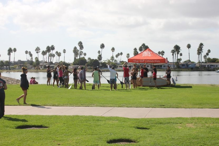 please support City of Hope and The SUP Connection in their goal. The SUP Connection helped the cause by contributing 28 boards to have participants be able to paddle in addition to walking.