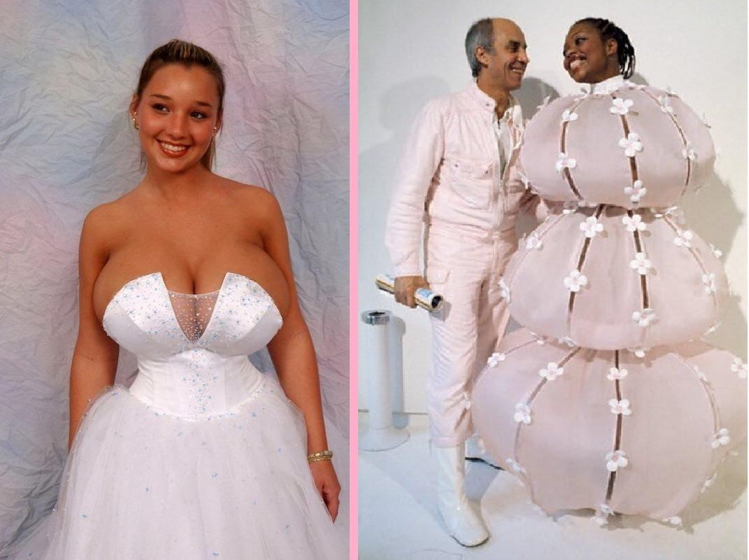 Ugliest Wedding Dresses Ever