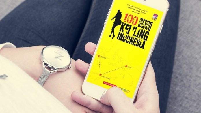 buku 100 Hari Keliling Indonesia sandi iswahyudi
