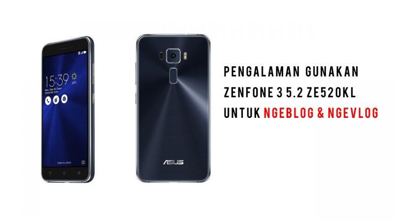 smartphone ASUS Zenfone 3 sandi iswahyudi