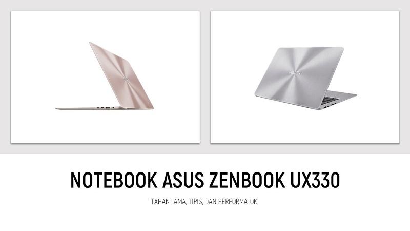 notebook ASUS Zenbook UX330 sandi iswahyudi