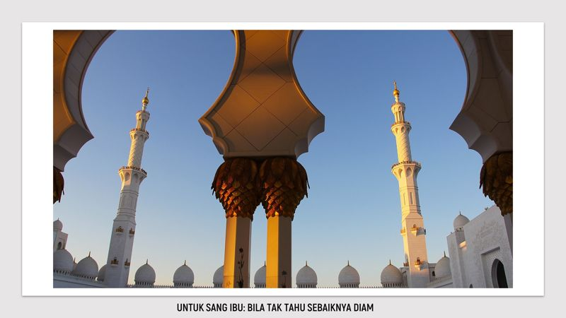 adzan cadar puisi islam