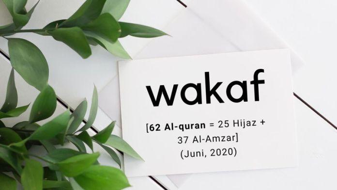 Laporan Wakaf Alquran juni 2020