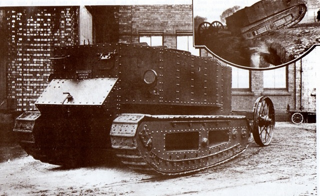 Sir William Tritton And The Tank (1/2)