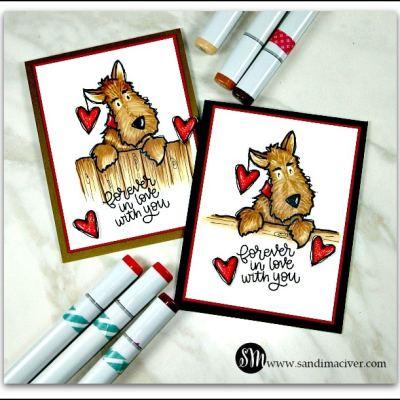 Darby Love Valentine Cards