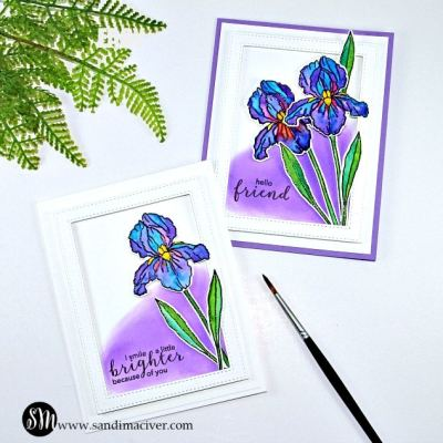 Easy Watercolor Techniques – Card #2