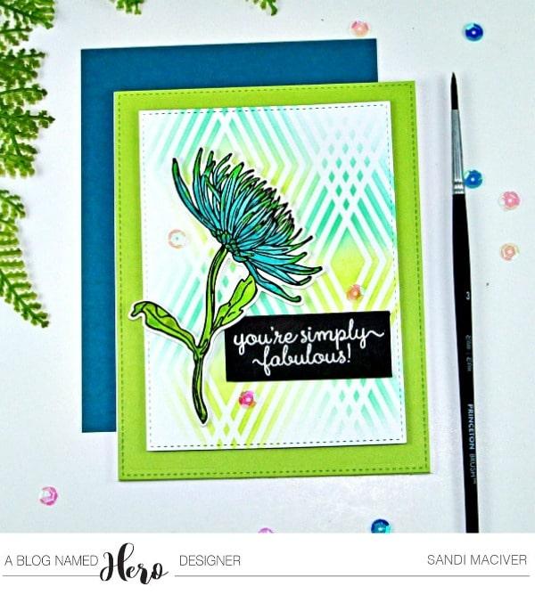 Hero Arts Mum Stem from Sandi MacIver.com