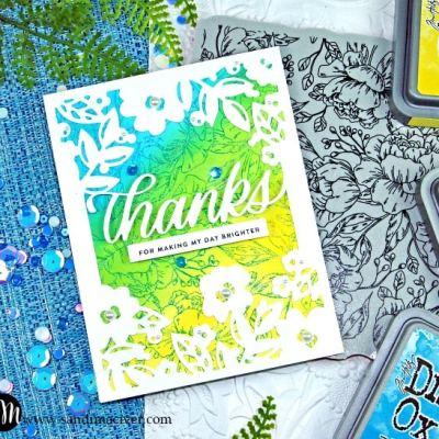 Simon Says Stamp Floral Mom Frame Cards