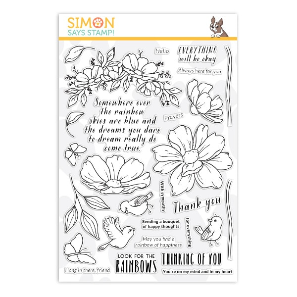 Simon Says Stamp Look for the Rainbows