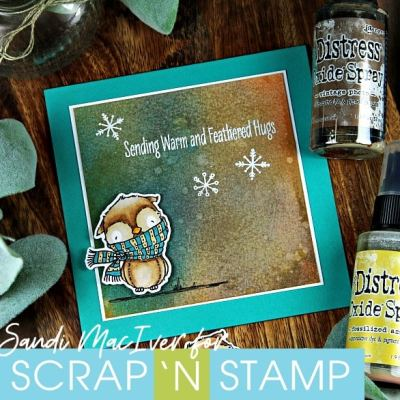 NEW VIDEO – Distress Oxide Sprays Simple Backgrounds #1