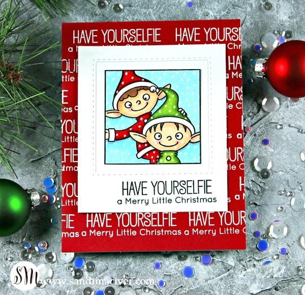 My Favorite Things Christmas Selfies 2 elves