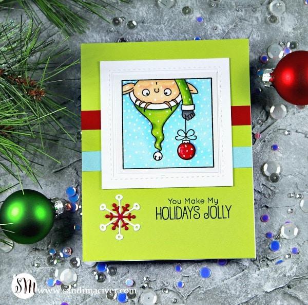 My Favorite Things Christmas Selfies upside down elf