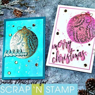 NEW VIDEO – Gemini Foil Press Foiled Christmas Cards
