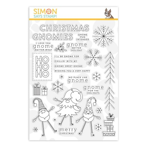 Gnome for the holidays stamp set