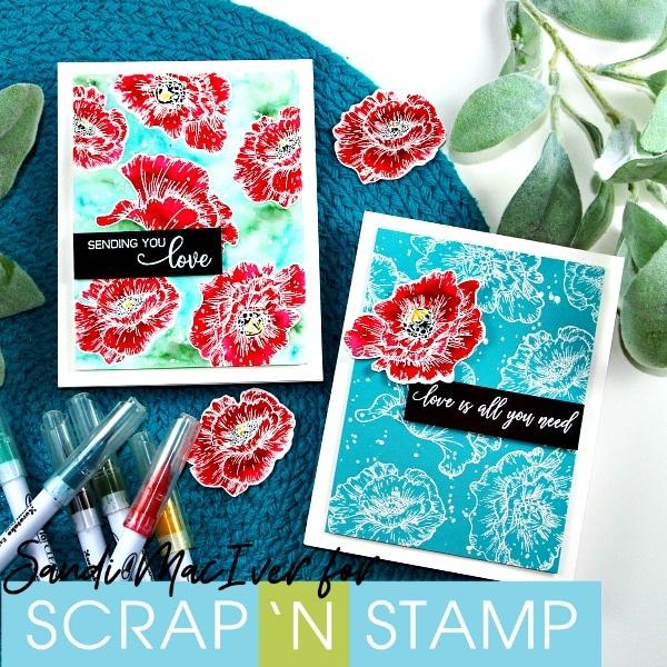 Poppy Bloom for Scrap 'N Stamp