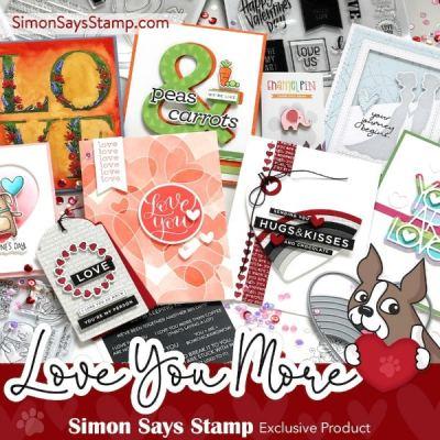 Simon Says Stamp Love You More