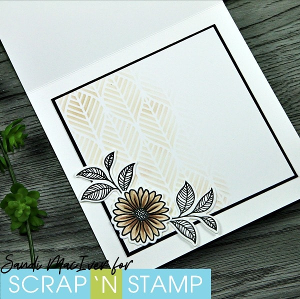 Copic Quickies - Sepia Card