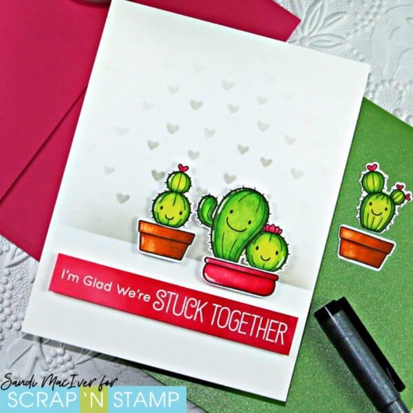 MFT Stamps Let's Stick Together
