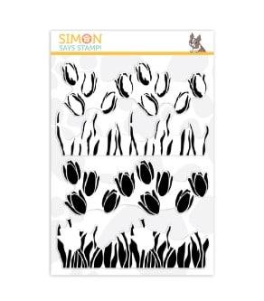 SImon Says Stamp Layered Tulips