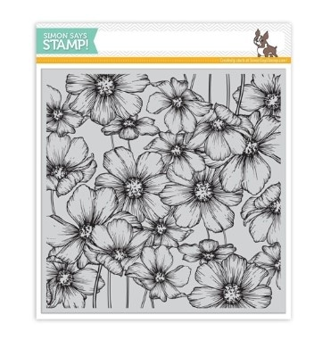 Cosmos Background Stamp
