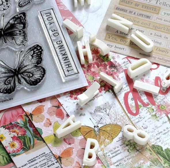 Simon Says Stamp Beautiful Butterflies Card Kit