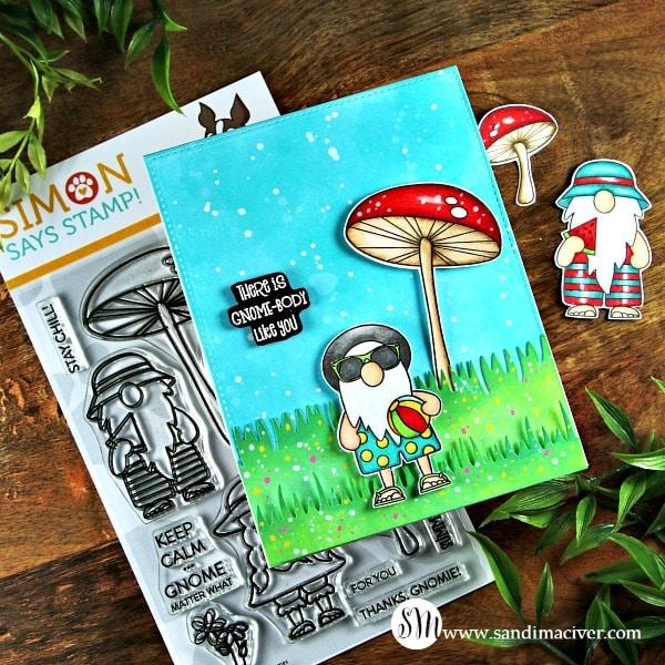 Simon Says Stamp Chillin Gnomes