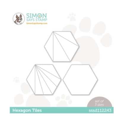 SImon Says Stamp Hexgon Tiles