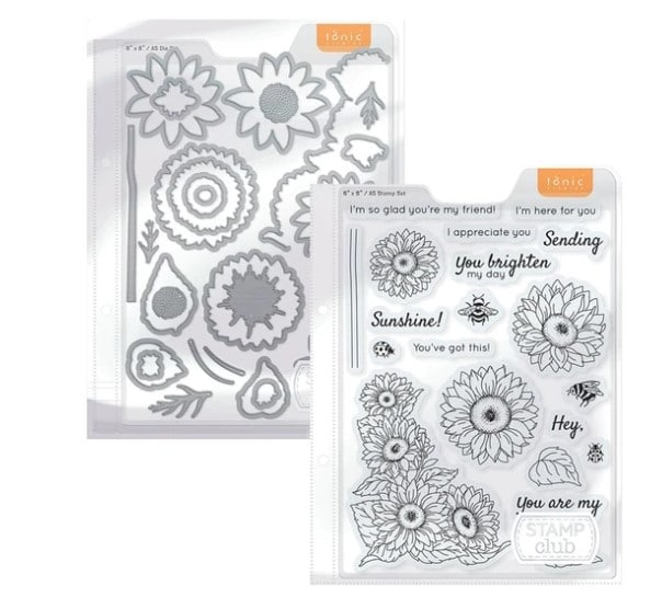 cardmaking and papercrafting stamps and dies from Tonic Studios