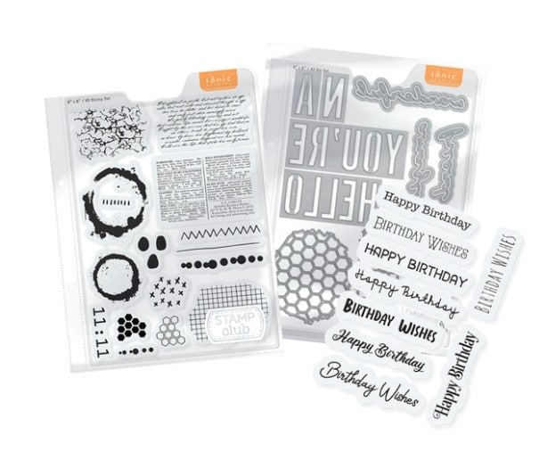 stamps and dies for cardmaking and papercrafting