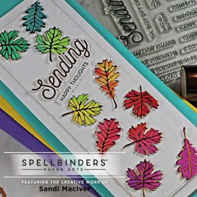 Spellbinders Clear Stamp of the Month
