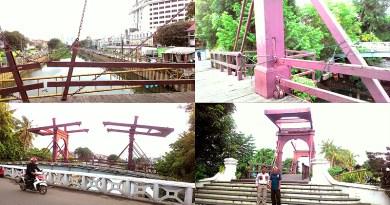 Jembatan Kota Intan Lapuk dan Perlu Diperbaiki