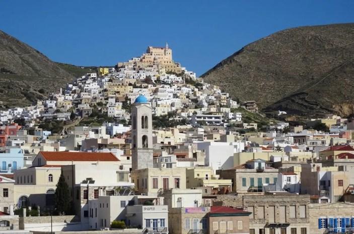 Ermoupolis and Ano Syros, Greece
