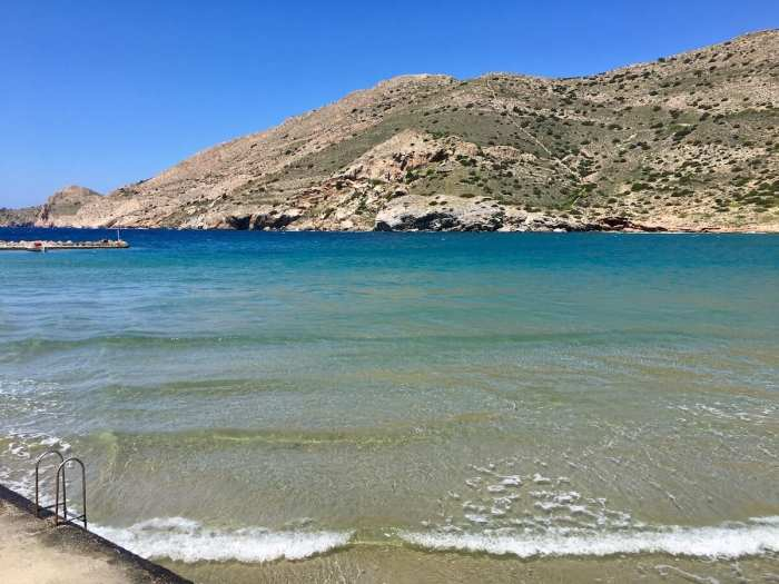 Galissas Beach, Syros, Greece