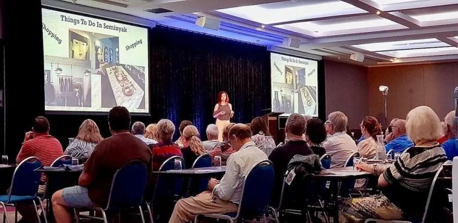 Me public speaking, Reverse Bucket List