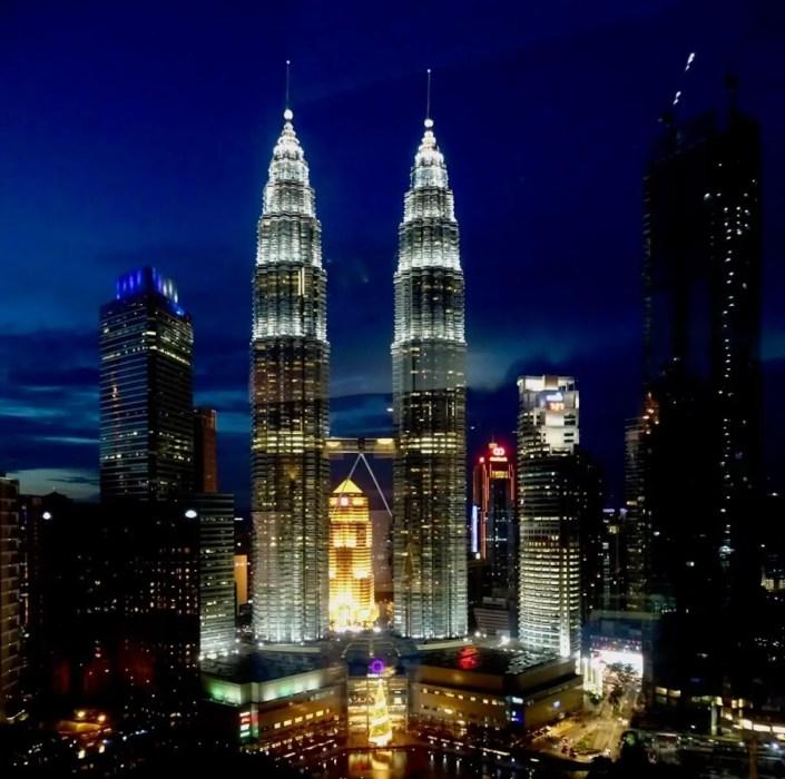 Kuala Lumpur, Petronas Towers, Malaysia.