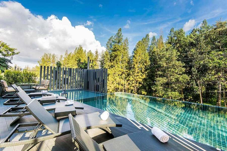 Hill Myna pool-Best areas to stay in Phuket