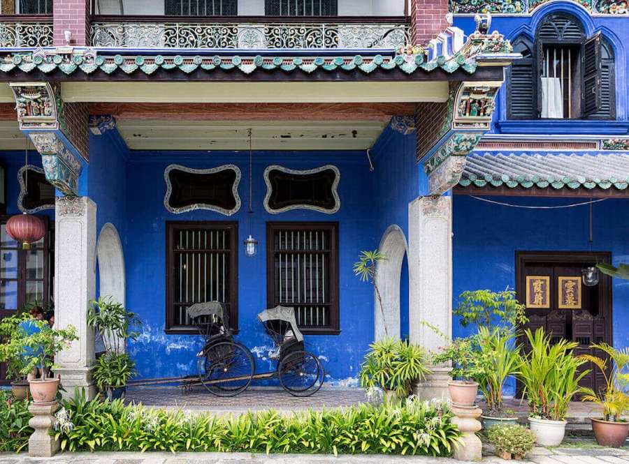 Blue Mansion Penang-Places to go in Malaysia