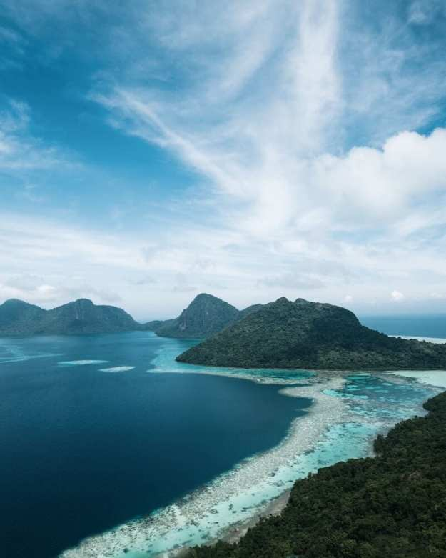 Malaysian Borneo coastline-reasons to visit Malaysia
