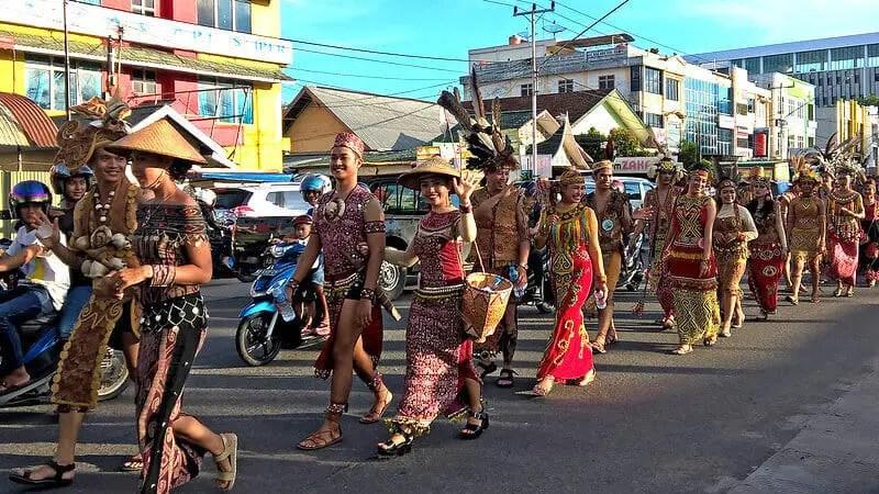 Gawai Day in Borneo